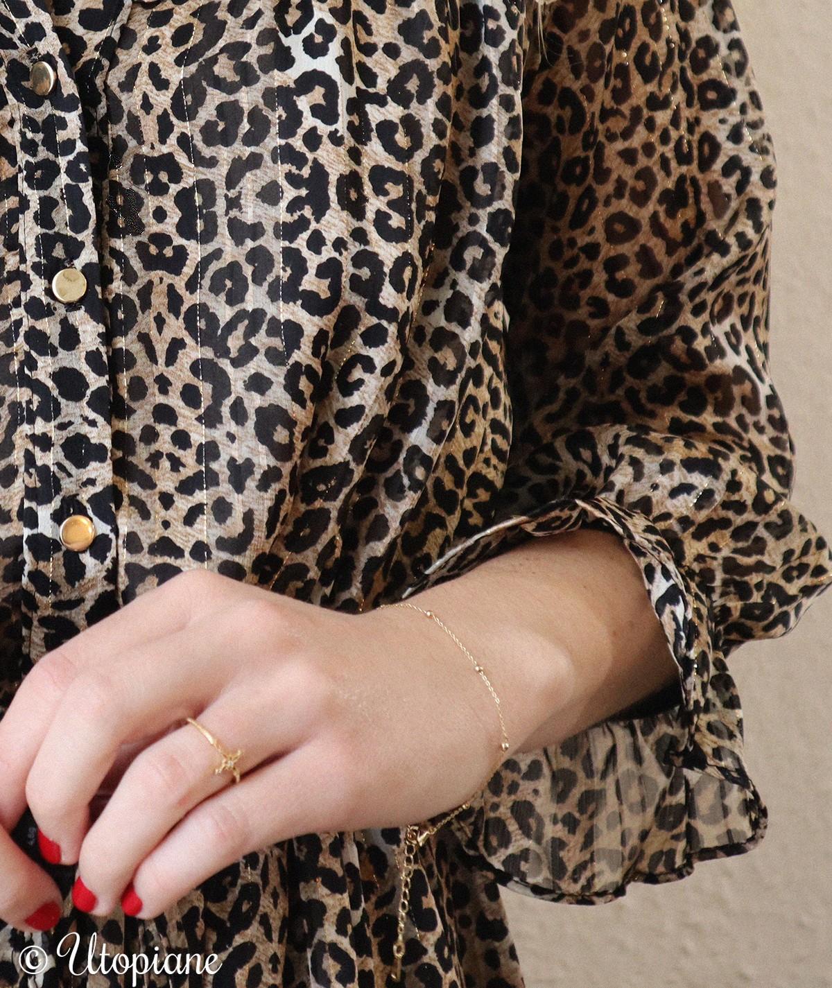 Bracelet Octave en plaqué or