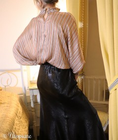 Blouse en polyester, manches longues