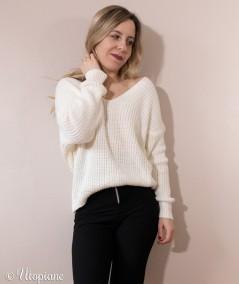 Pull Valentin femme doux confortable parfait pour l'hiver sans laine