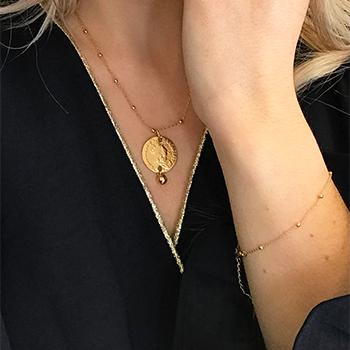 Idées cadeaux, Bijoux en plaqué or et argent garantis, acier, laiton