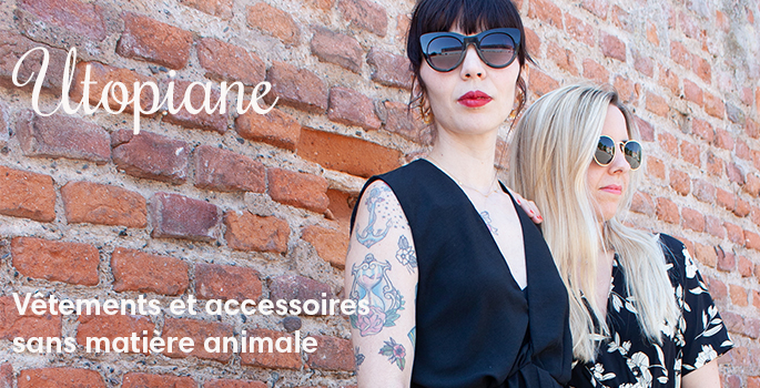 Utopiane mode vegan vêtements accessoires