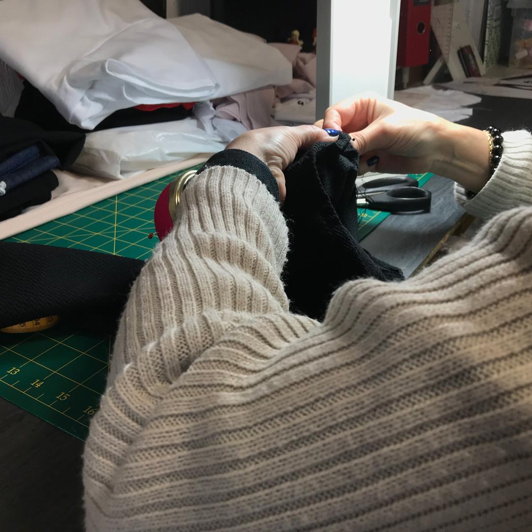 Capsule création mode par une couturière alsacienne passionnée