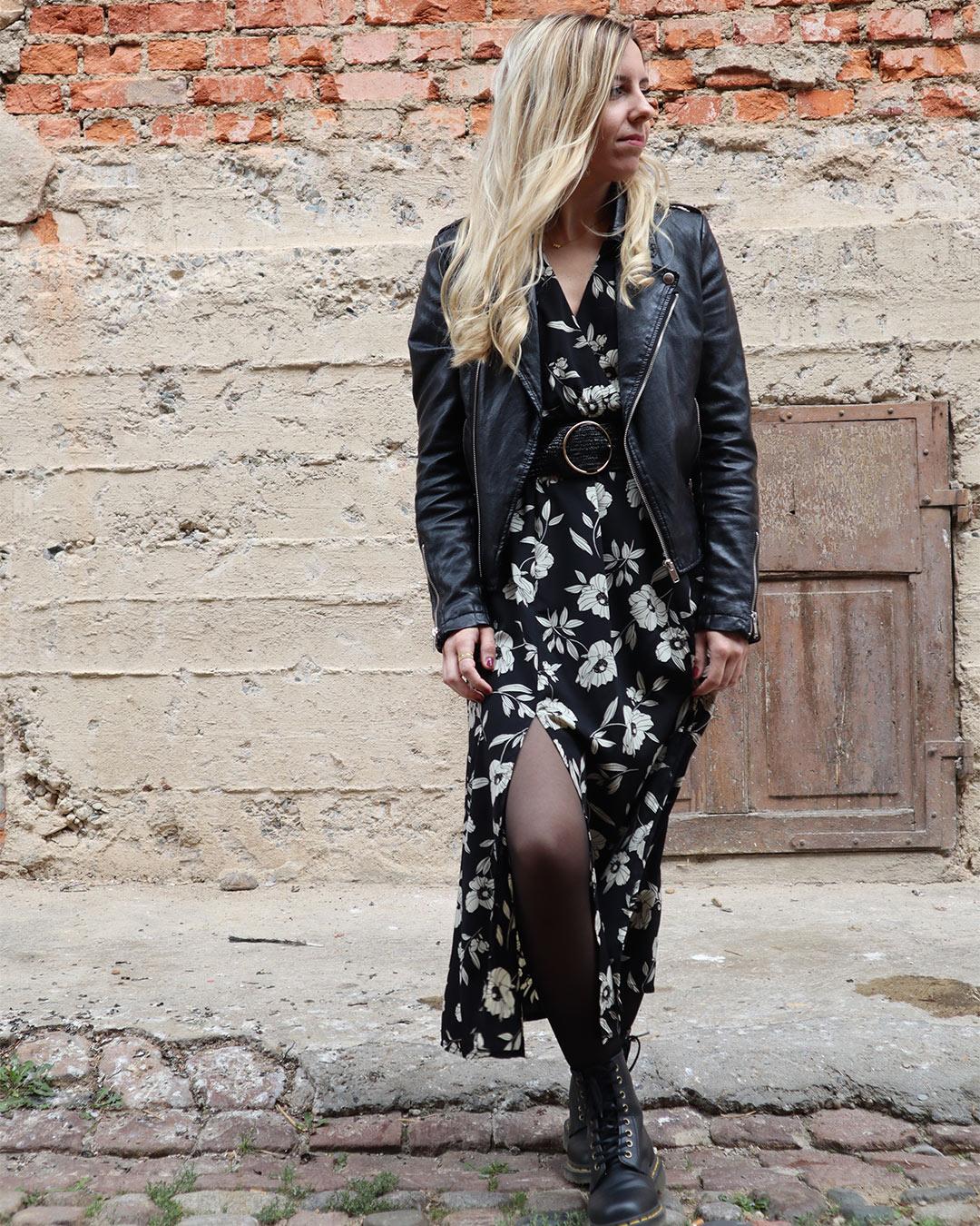 Robe Aglaé noire