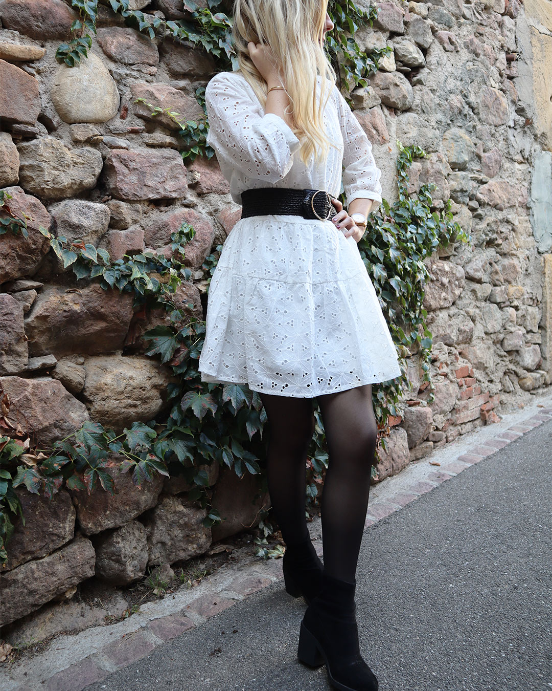 Robe Cyrille broderie anglaise